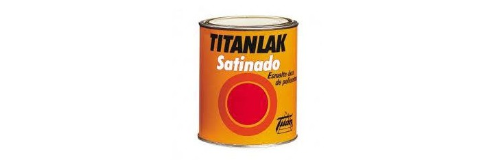 ESMALTE TITANLAK SATINADO